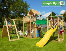 Jungle gym mega set paradise 2 inclusief montage